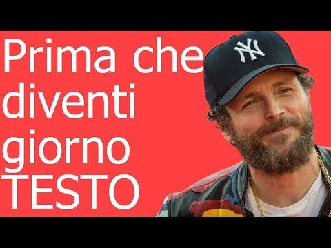 Jovanotti-Prima che diventi giorno (testo in italiano)