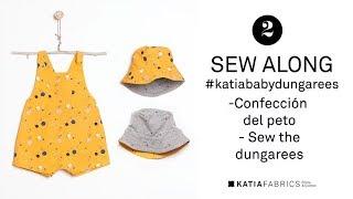 DIY COSTURA ✂ Katia Baby Dungarees | Confección Del Peto