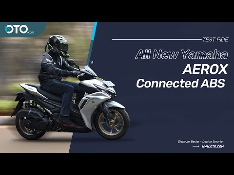 All New Yamaha Aerox Connected ABS, Performa Meningkat