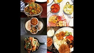 5 Easy Indian Vegetarian Recipes | Quick Easy Indian Dishes