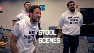 Sleepover At The Sportsbook - Stool Scenes 170