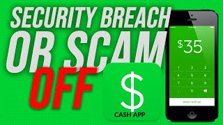 Remove bank details from Cash App   Security Breach or  Scam