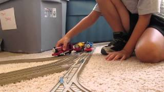 preview picture of video 'Ben Whiff Rheneas Thomas & Friends Follow the Leader'
