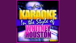 Do You Hear What I Hear (In the Style of Whitney Houston) (Karaoke Version)