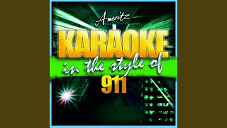 Party People (Friday Night) (In the Style of 911) (Karaoke Version)