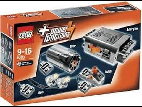 Vidéo LEGO Power Functions 8293 : Ensemble moteur