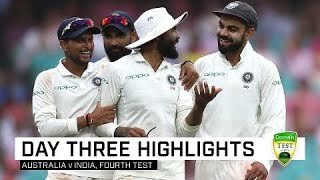 India take stranglehold on SCG contest | Fourth Domain Test
