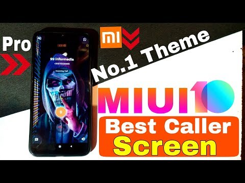 Download Miui 10 Change Incoming Outgoing Calling Screen Best Call