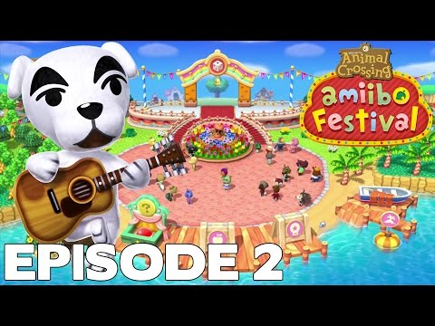 Let's Play Episode 2 : ANIMAL CROSSING AMIIBO FESTIVAL FR Nintendo Wii U