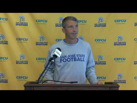 San Jose State Weekly Football Press Conference 10-14-19
