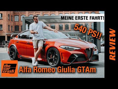 Alfa Romeo Giulia GTAm (2021): Endlich darf ich 1/500 fahren! ❤️ Fahrbericht   Review   Test   Sound