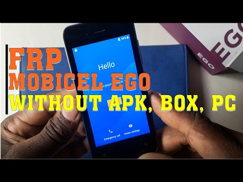 Mobicel Astro Ultra Ego frp bypass new method without box android