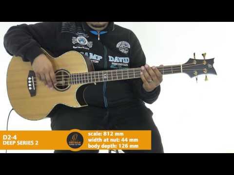 Ortega Guitars | D2-4 - Deep Series 2 (Acoustic Bass Guitar)
