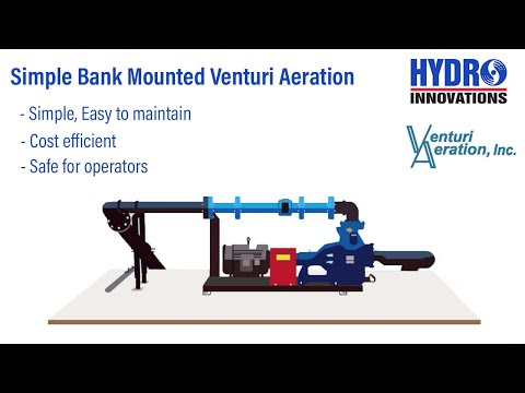SAFER, MORE EFFICIENT AERATION SYSTEM!