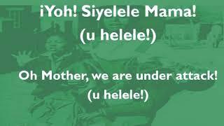 Sarafina - Siyelele Mama (Sechaba)  Lyric Video