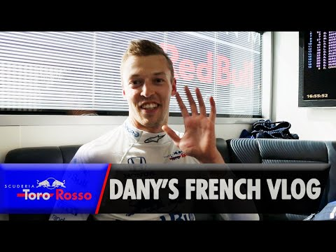 F1 2019: Daniil Kvyat's French GP Vlog
