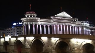 preview picture of video '☼ Скопје | Skopje - fake ancient & most bizarre city in the world'