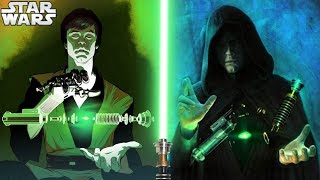 Everything Luke Did When Building His GREEN Lightsaber - Star Wars Explained