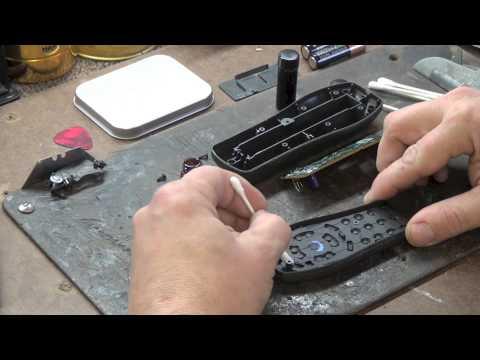 Generic Remote Control Keypad Repair Kit Remote Control