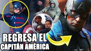 ¡BOMBA! Regresa el Capitán América con un nuevo rostro y escudo en  Falcon y Winter Soldier