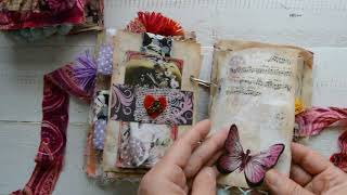Bohemian Style Junk Journals. Custom Orders For Jenny And Daisy.