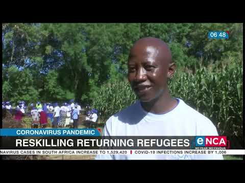 Organisation helps returning Zimbabwe refugees get back on their feet