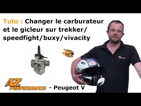 Changer le carburateur et les gicleurs de son Speedfight 1-2 / Trekker / Buxy / ...