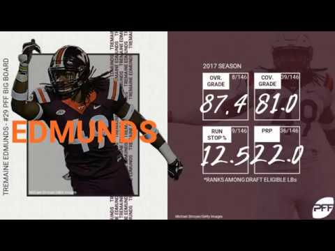 Tremaine Edmunds Scouting Report   PFF NFL Draft