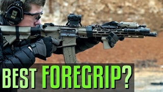 What Rifle Foregrip is Best? Angled? Vertical? Handstop?