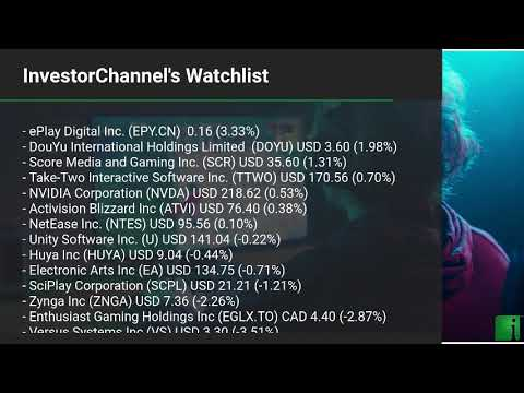 InvestorChannel's Esports Watchlist Update for Friday, Oct ... Thumbnail