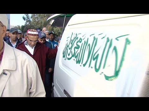 الدار البيضاء تشييع جثمان المرحوم مصطفى مديح بمقبرة الرحمة