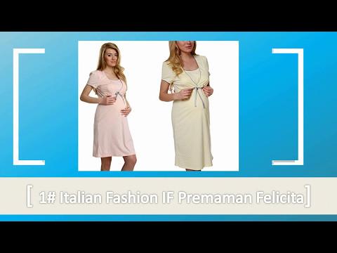 Top 10 Pigiami e camicie da notte premaman Per La Moda 2017