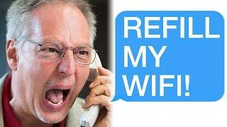 r/Talesfromtechsupport My WiFi is Low... REFILL IT!