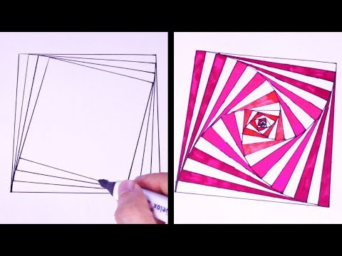 27 Cool Drawing Trick That You Will Love