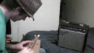 Electric Cardboard Dulcimer