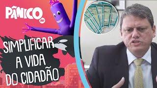 Tarcísio Gomes de Freitas fala sobre as mudanças no Código de Trânsito e na CNH