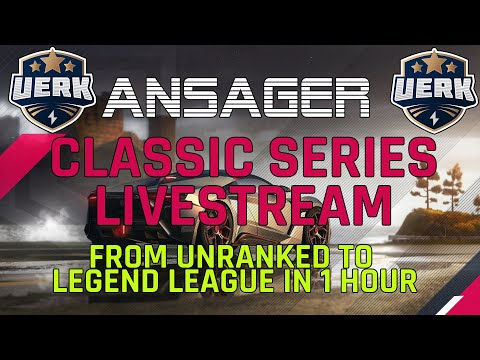 🔴 Asfalto ao vivo 9 #11 - Classic Series De Unranked para Legend League em 1 Hour
