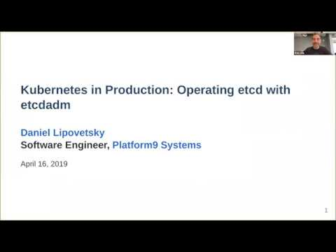 Kubernetes in production: operating etcd with etcdadm