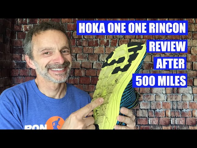 Hoka One One Rincon Running Shoe Review After 500 Miles