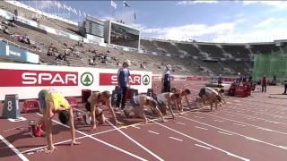 European Championship Helsinki 2012- 110m hurdles