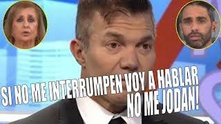 SE RE CALENTÓ - Burlando se peleó con el panel de Gente Opinando por defender a Darthés | YouTV
