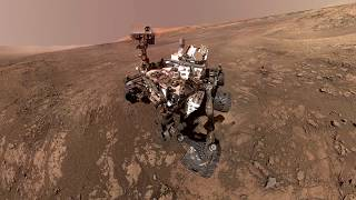 Топ 5 фото с марсохода Curiosity. Планета Марс
