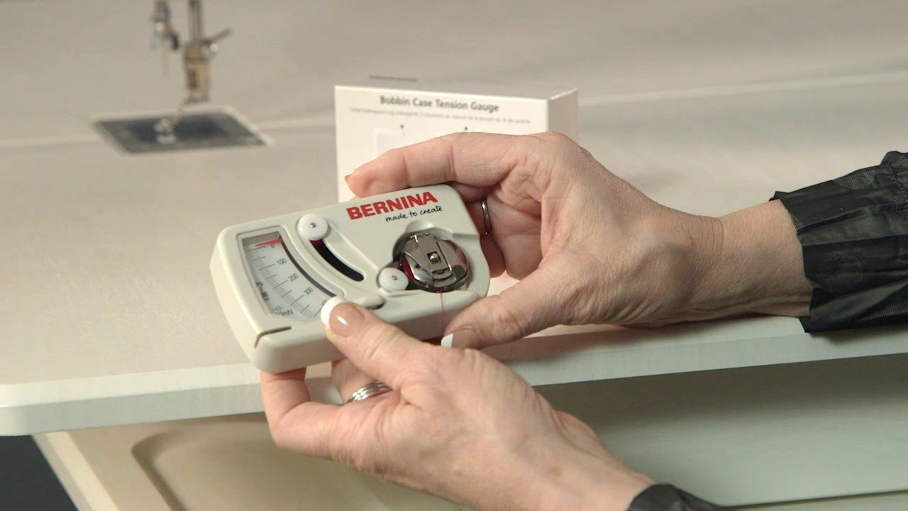 BERNINA Q 20 Tutorial: Bobbin Tension Gauge