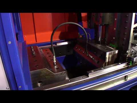 Testing a hydraulic hose impulse test stand, Held Hydraulik