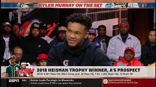 """Stephen A. Smith vs Kyler Murray QUESTIONABLE """"What QB most resembles your game""""