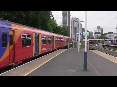 Sights and Sounds of South West Trains at Waterloo 11th Augu…
