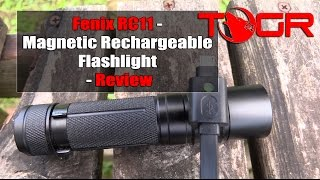 Simple to Charge! - Fenix RC11 - Magnetic Rechargeable Flashlight - Review