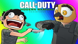 COD4 Remastered: Gun Game - Knife Maniac Nogla!!