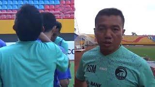 Jaga Mental Pemain yang Jarang Main, Asisten Pelatih Sriwijaya FC Lakukan Hal Ini