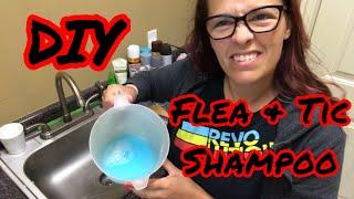DIY flea and tic shampoo- it works